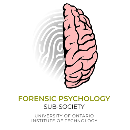 Ontario Tech University's forensic psychology sub-society logo